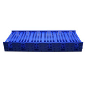 Tube rack, mega rack, blue