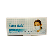 sky blue mask, box